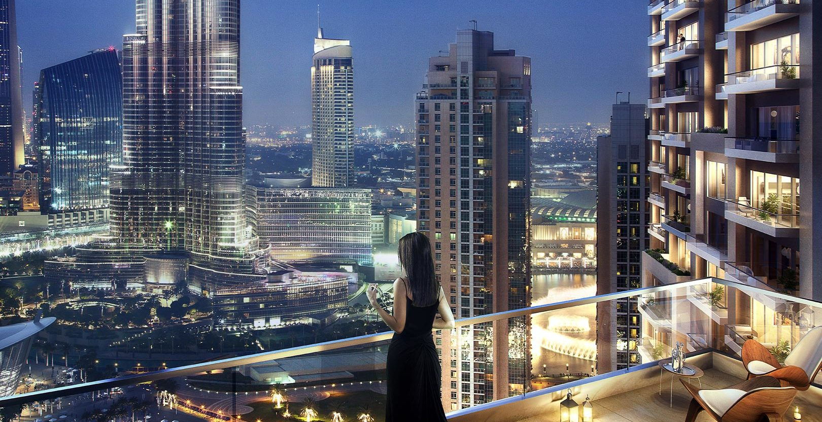 Act One Act Two - Downtown Dubai - Baloney View