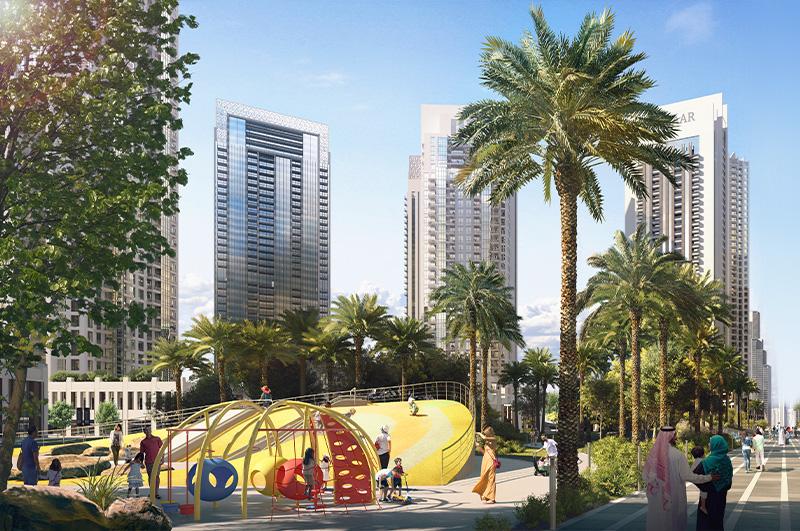 Creek Gate Dubai Creek Harbour - Emaar Apartments for Sale in Dubai